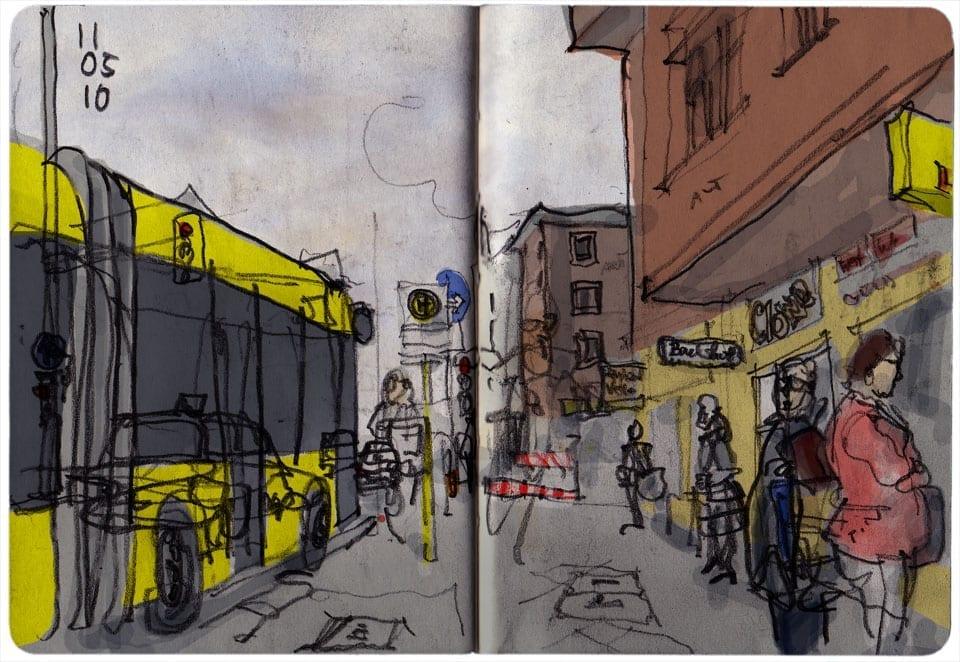 Bus Stop, Berlin