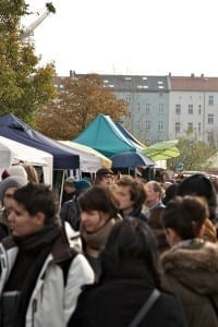(English) Mauerpark Flea Market