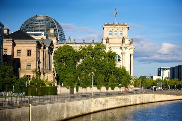 Reichstag. Photo by Paul Sullivan.