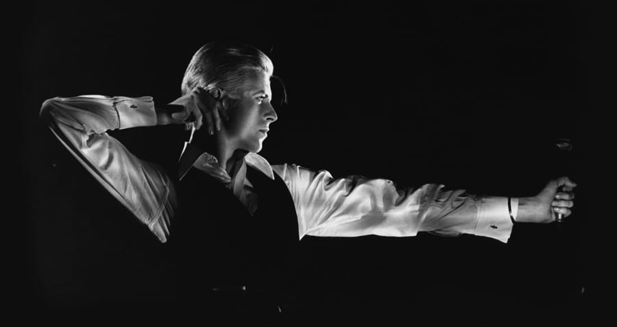 Station to Station, 1976 – from the V&A exhibition David Bowie is