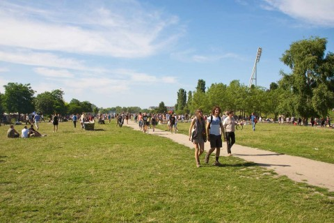 Mauerpark. Image by Paul Sullivan.