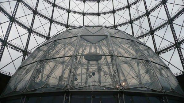 Inside the Schöneberg Gasometer