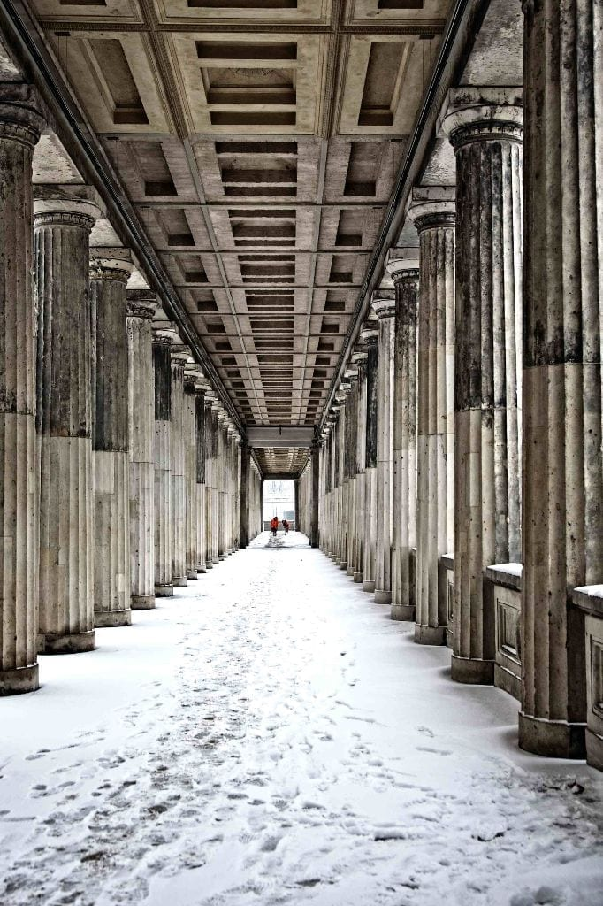 Museums In The Snow. Image by Paul Sullivan.