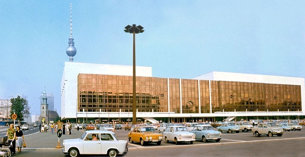 Palast der Republik, 1977