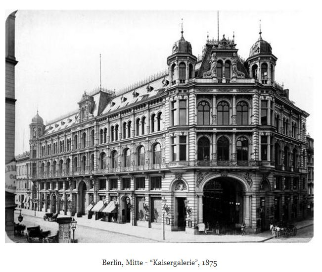 old berlin kaisergalerie 1875