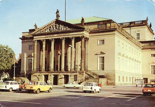 The Staatsoper in the GDR era.