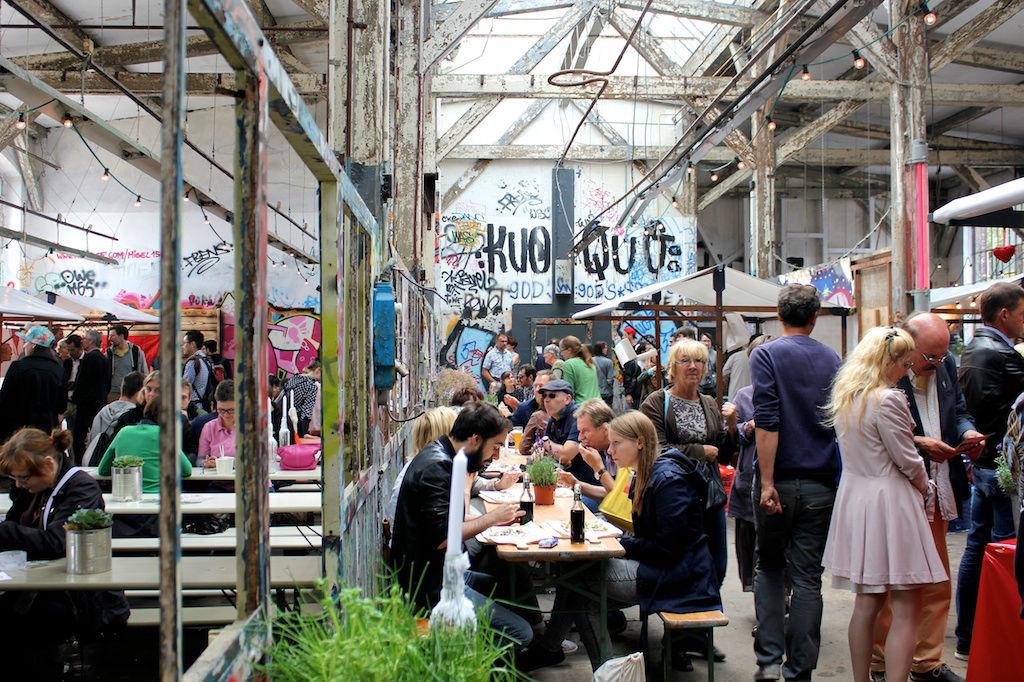 Berlin Village Market at Neue Heimat by Giulia Pines