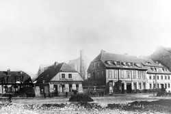 Am Prenzlauer Tor in 1900. Image by F. Albert Schwartz.